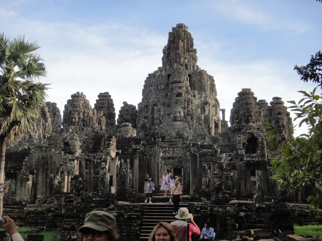 カンボジア シェムリアップ アンコール・トム遺跡 中央祠堂