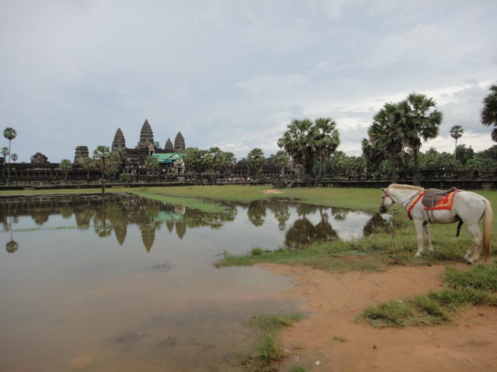 カンボジア、シェムリアップ、アンコールワット遺跡