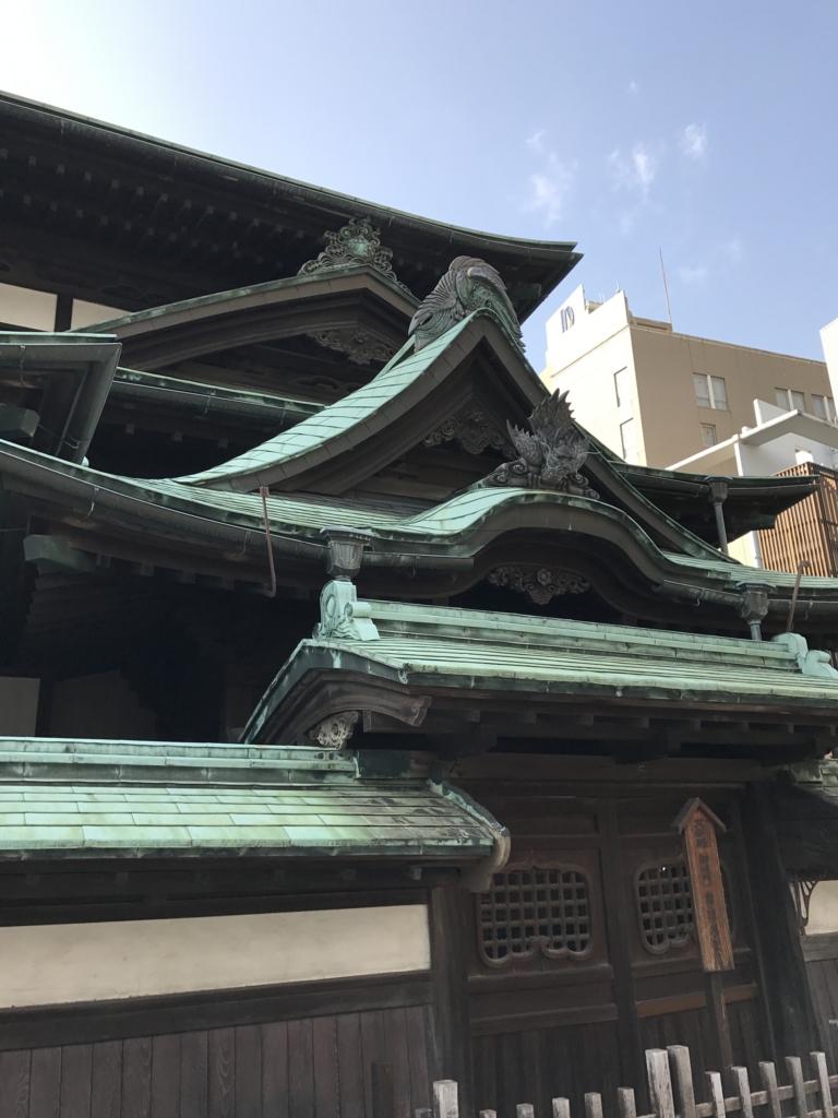愛媛県 「道後温泉本館」 東側 皇室用入り口