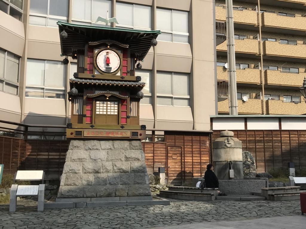 愛媛県 道後温泉駅 からくり時計