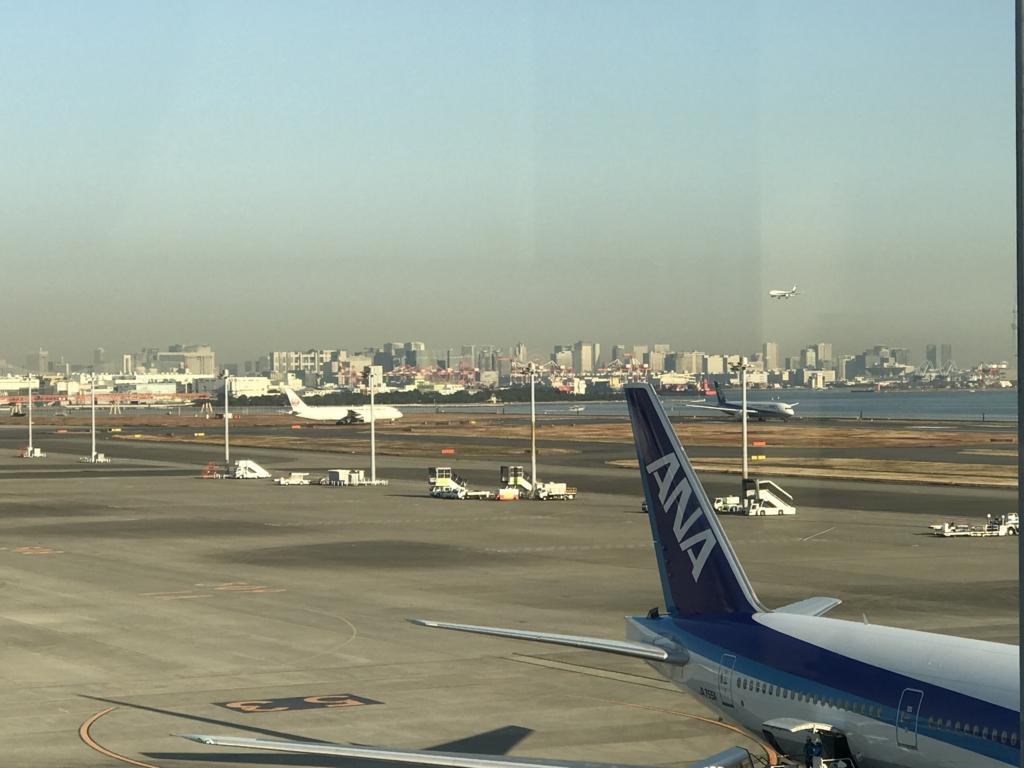 羽田空港 国内線 第二ターミナル 松山へ