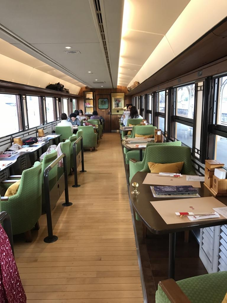 予讃線 観光列車 「伊予灘ものがたり」2号車 全貌