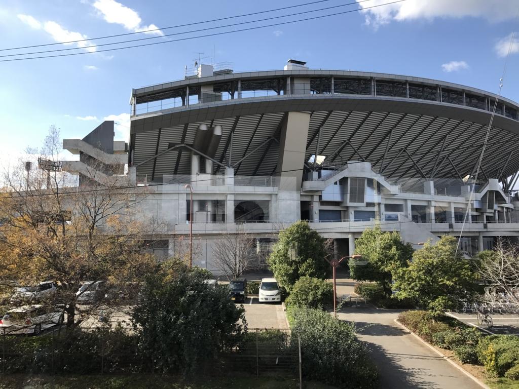 予讃線 観光列車「伊予灘ものがたり」沿線 市坪駅 坊ちゃんスタジアム