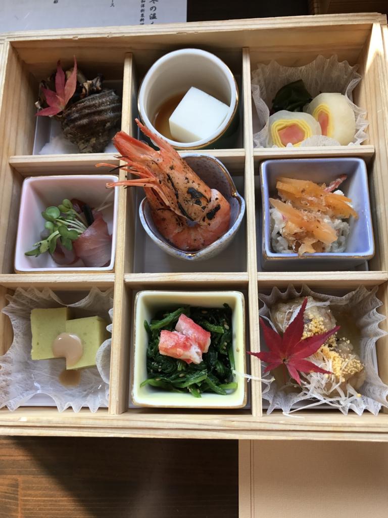 予讃線 観光列車「伊予灘ものがたり」「双海編」食事 1の重