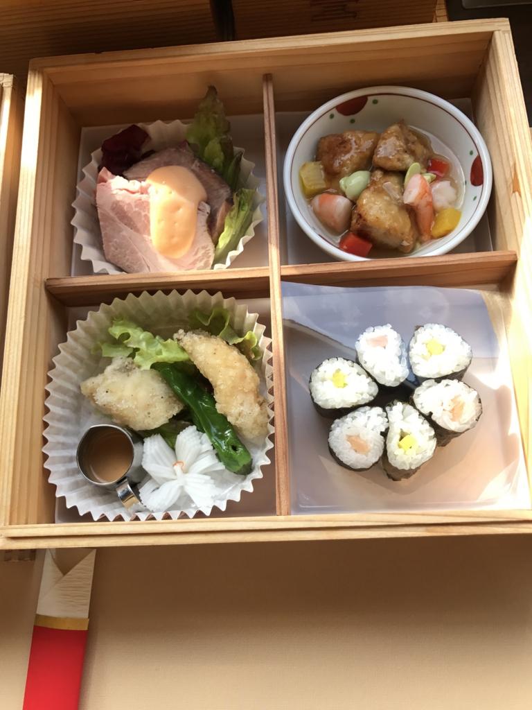 予讃線 観光列車「伊予灘ものがたり」「双海編」食事 2の重
