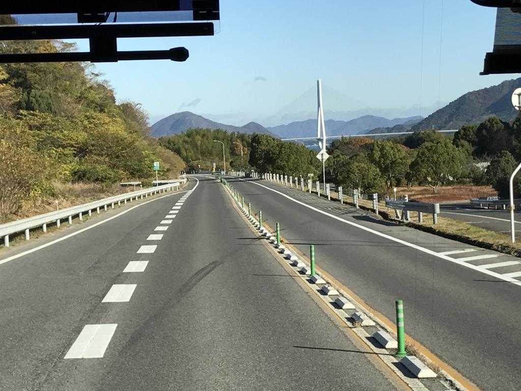 「しまなみ海道」高速バス「キララ エクスプレス」「大三島」に上陸