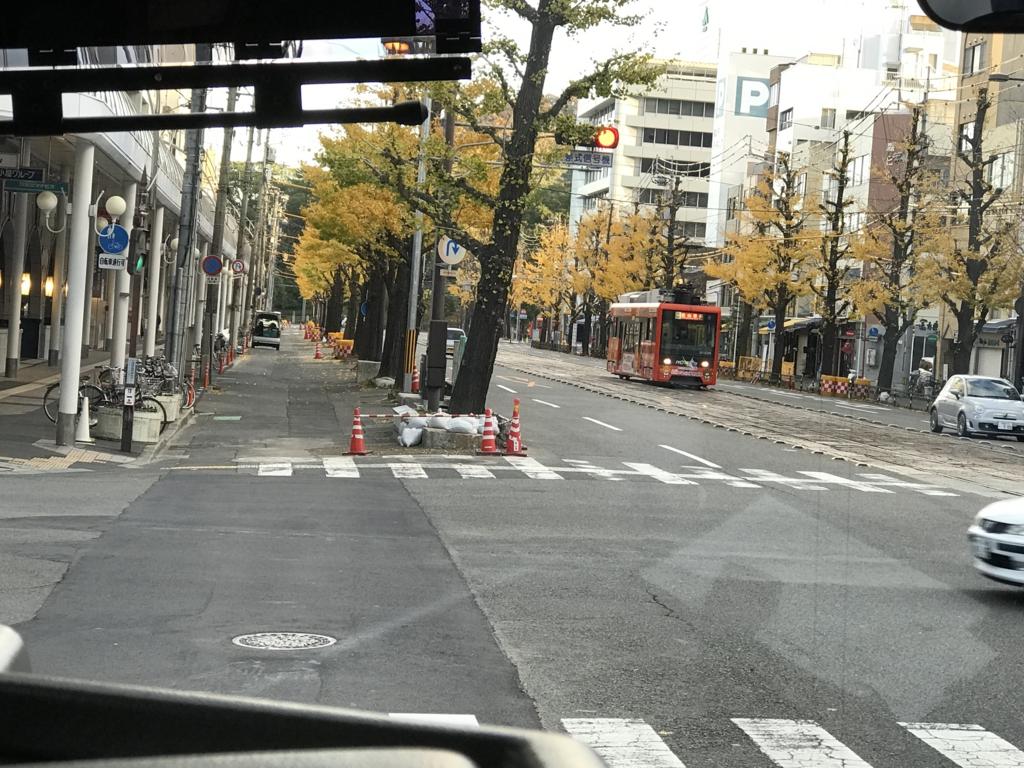 松山市内 路面電車
