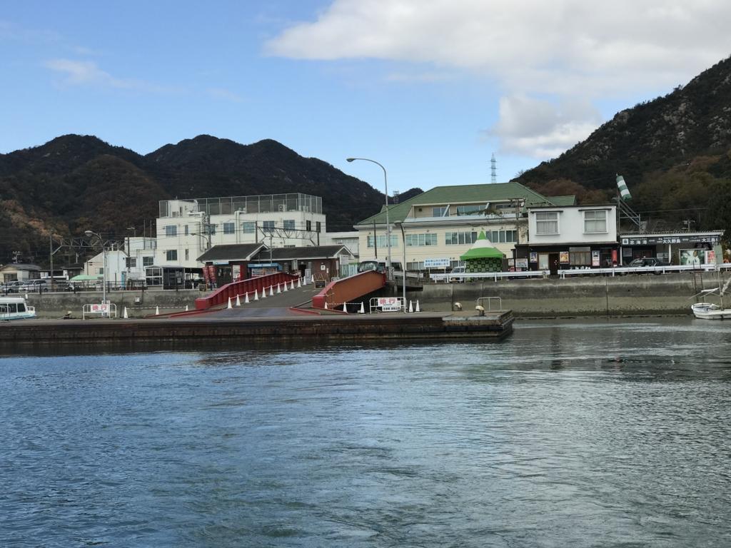 忠海港 桟橋