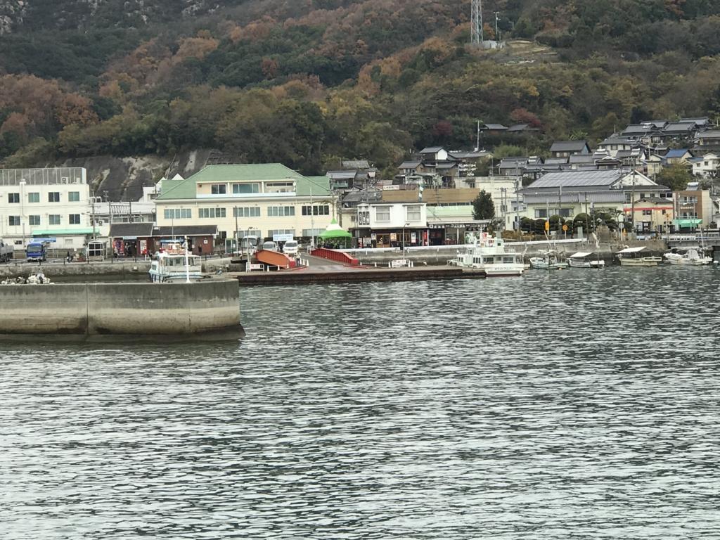 広島県 忠海港 桟橋