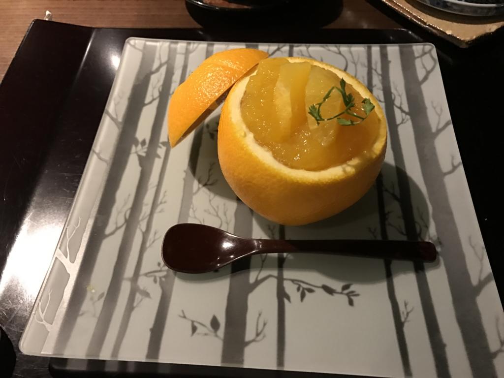 足利の料亭「伊萬里」デザート