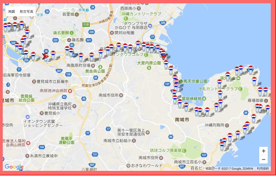 沖縄県 東陽バス 38番 「志喜屋線」バスロケ