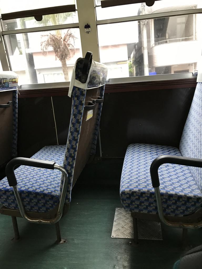 「上泉」38番 「志喜屋線」 座席
