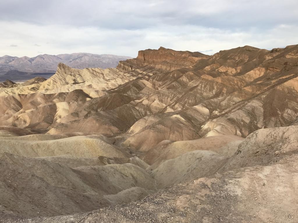 デスバレ国立公園ー Dantes View からの風景