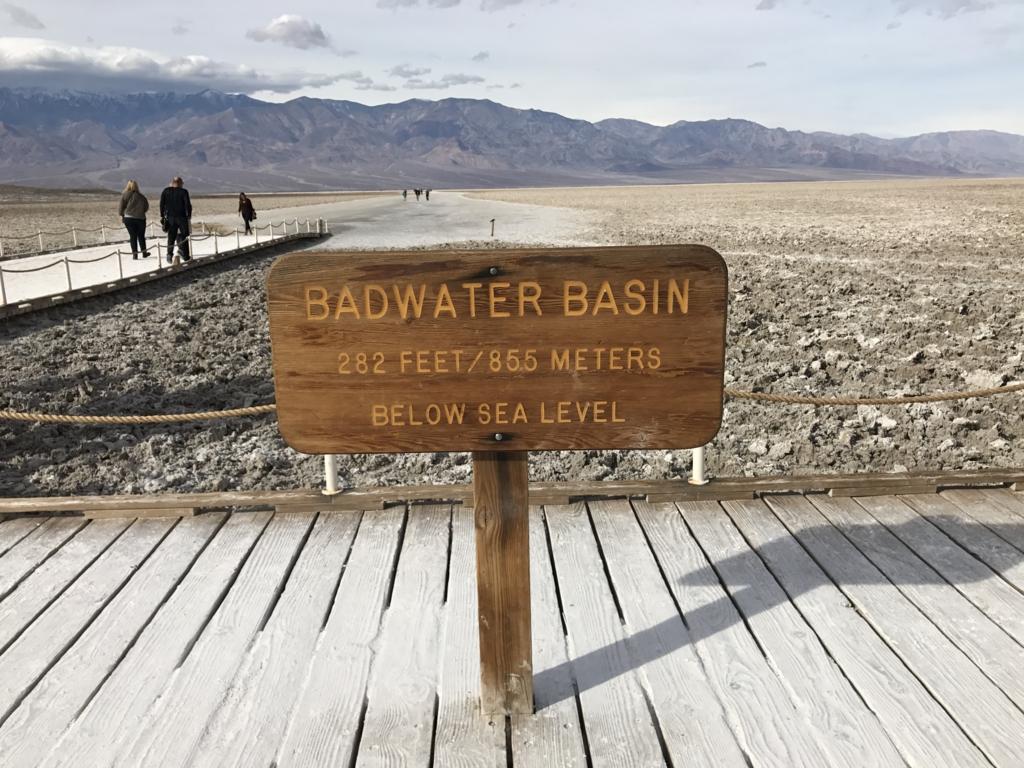 デスバレー国立公園 Bad Water
