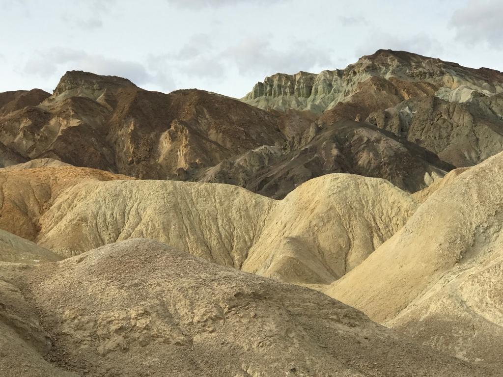 デスバレー国立公園 Twenty Mule Team Canyon
