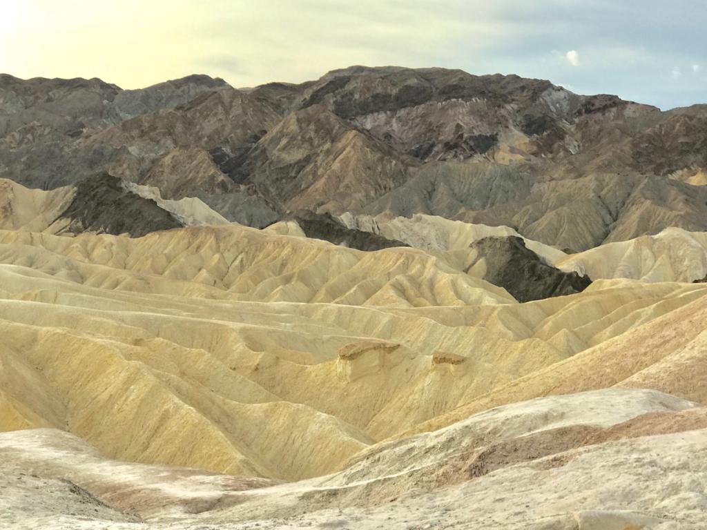 デスバレー Dantes View からの風景
