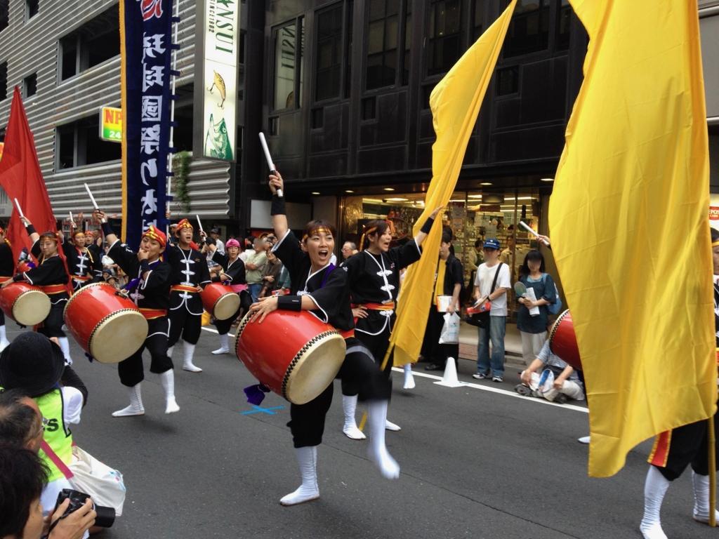 2012年 「新宿エイサー」