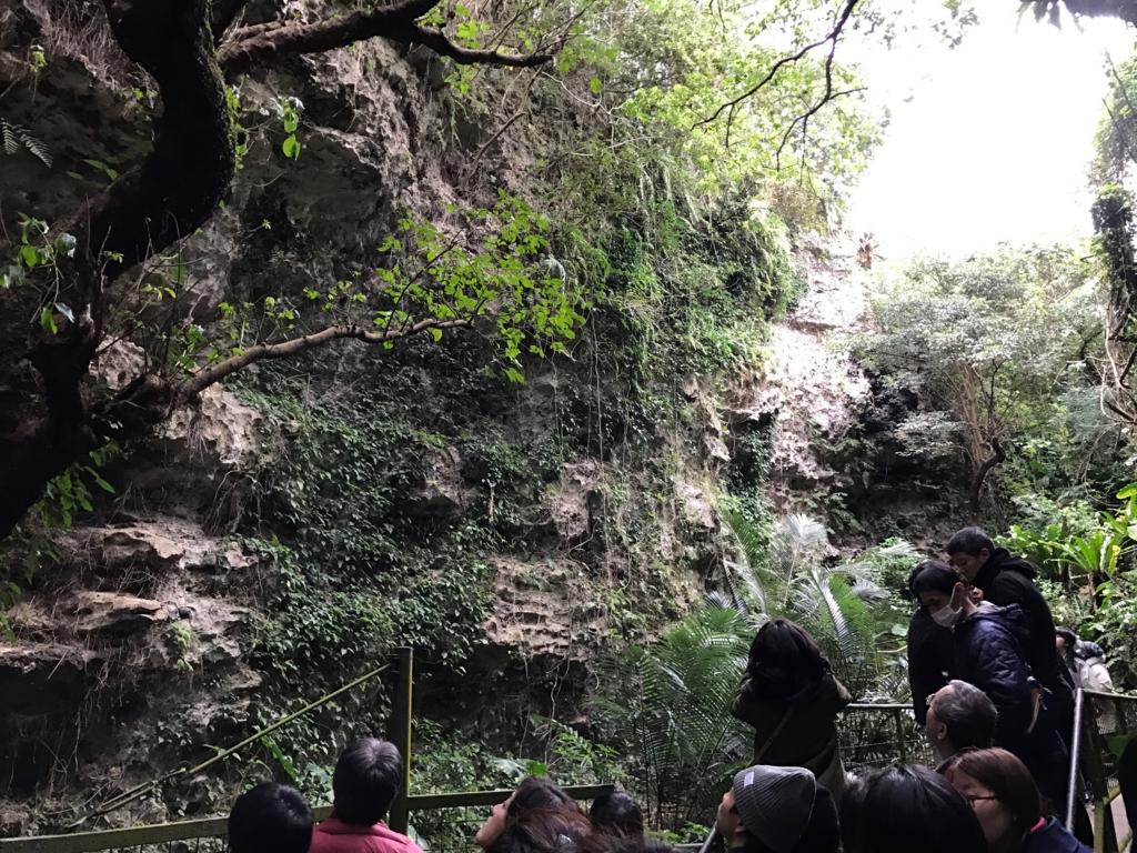 沖縄県「ガンガラーの谷」  古代人の生活の場