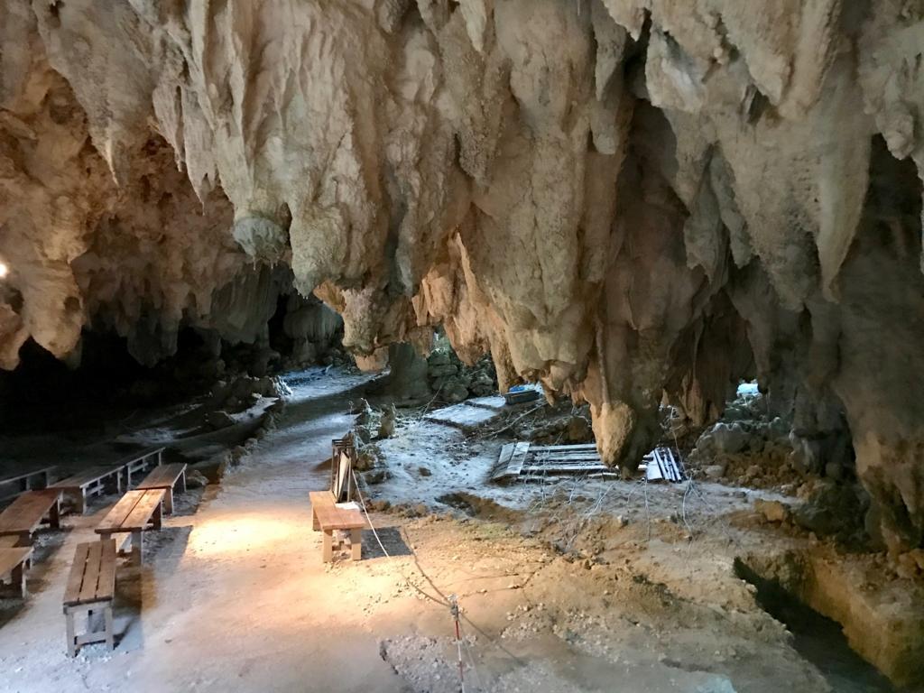 沖縄県「ガンガラーの谷」武芸洞