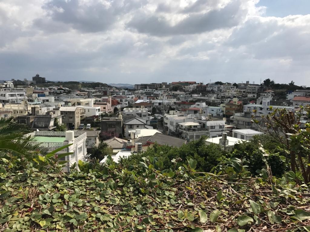 沖縄県 首里城公園よりの眺望 市内