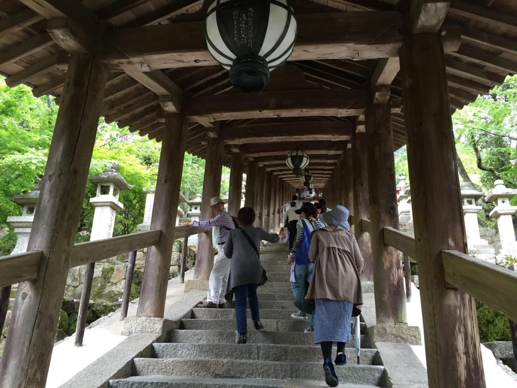 奈良県 長谷寺 回廊