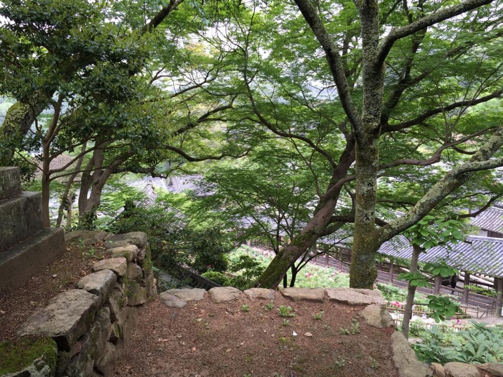 奈良県 長谷寺 続く回廊