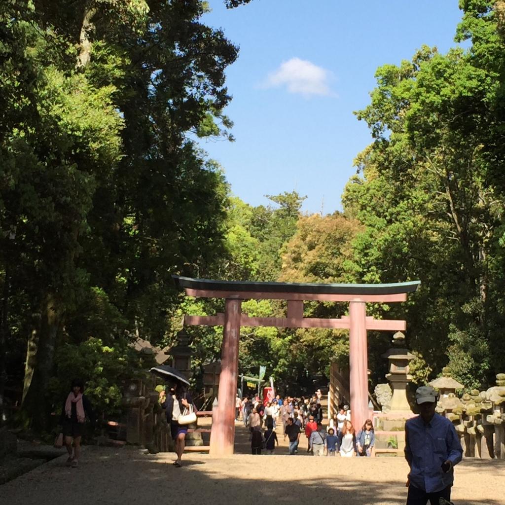 奈良県 春日大社 二之鳥居