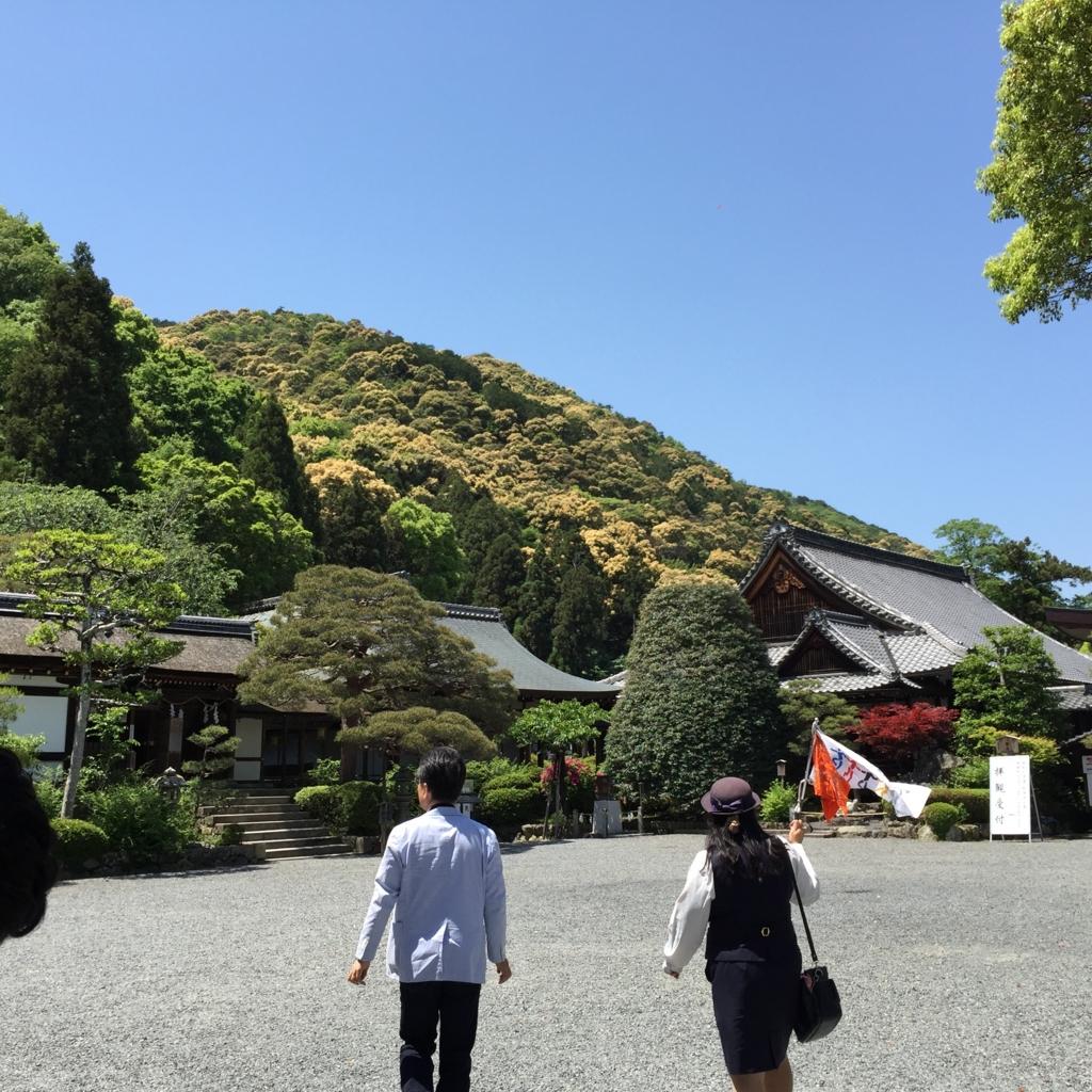京都府 松尾大社 本殿横 庭園入口