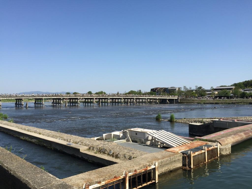ゴールデンウイーク 京都 渡月橋