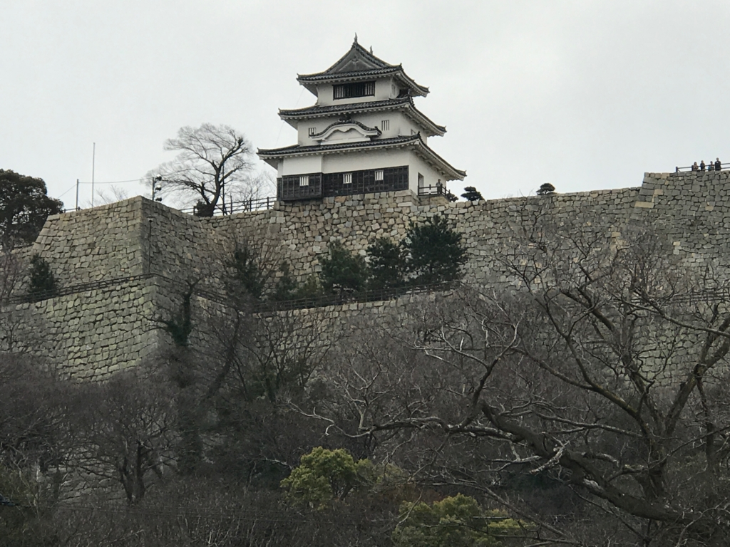 香川県 丸亀城 小さなお城