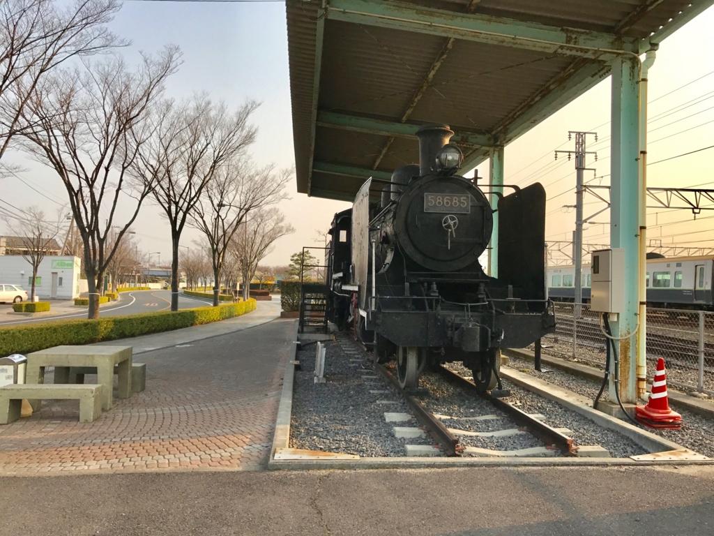 香川県 JR多度津駅 8620形蒸気機関車(ハチロク)