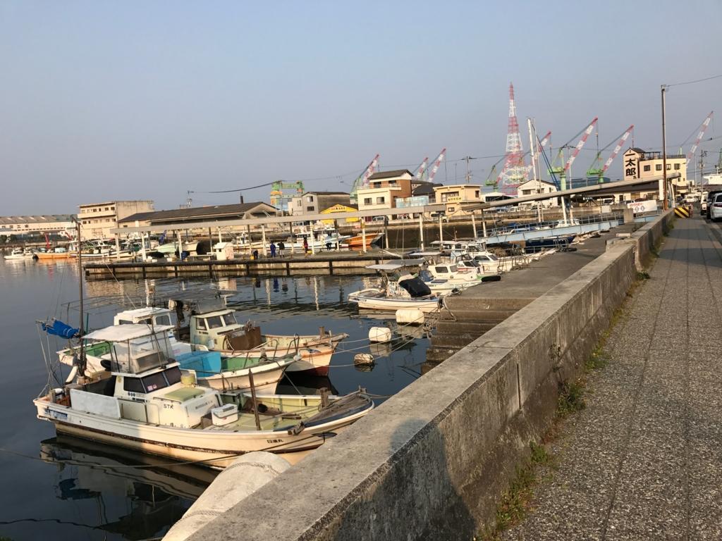 香川県 JR多度津港