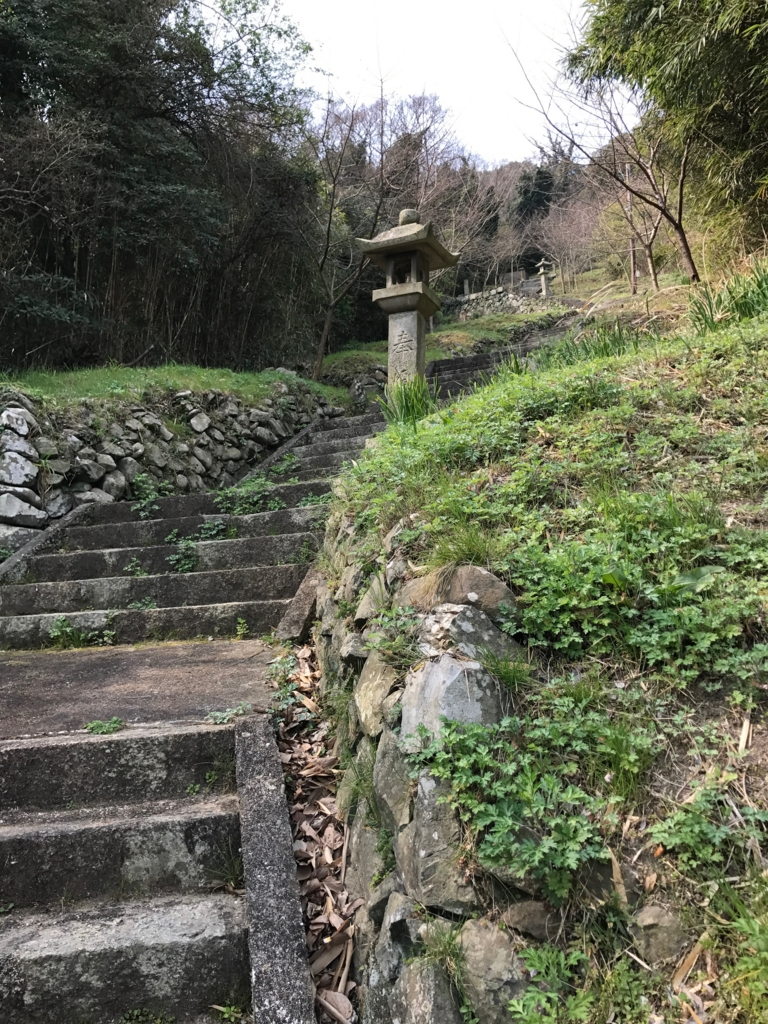 香川県 佐柳島(ねこ島)「大天神社」お参り道 階段道