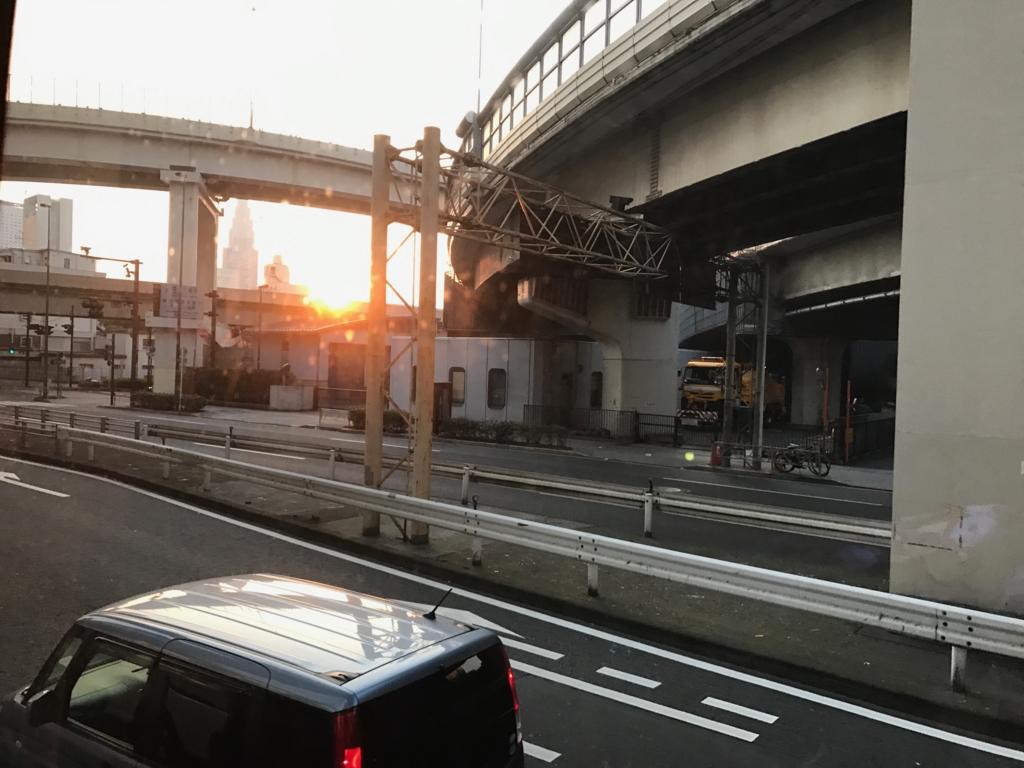 「ドリーム徳島」東京到着