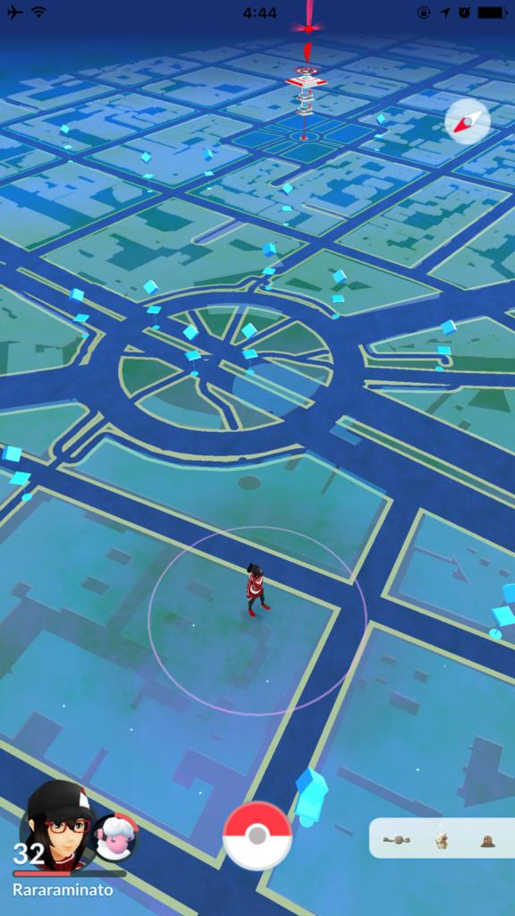 メキシコシティ「Hotel Royal Reforma」宿泊中 PokemonGO(ポケモンGO)マップ