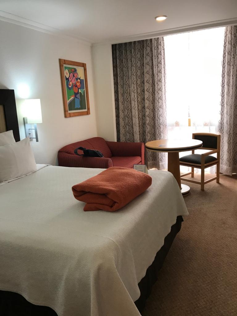 メキシコシティ 宿泊先 「Hotel Royal Reforma」客室