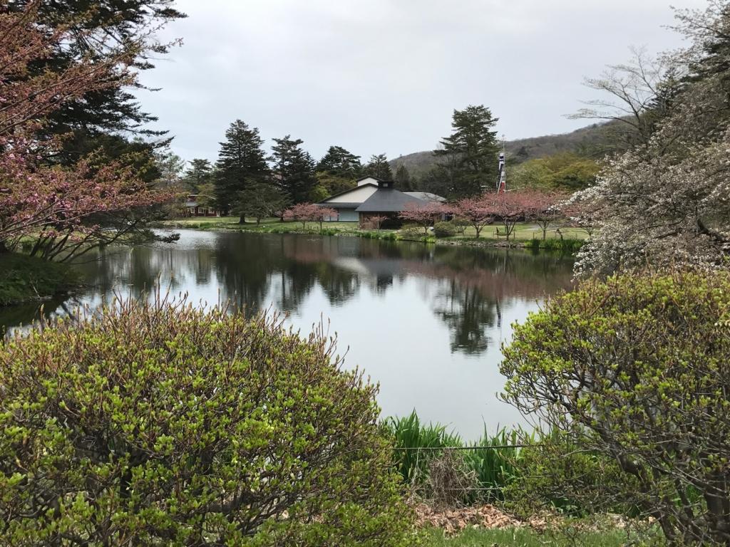 「軽井沢プリンスホテルウエスト」庭園