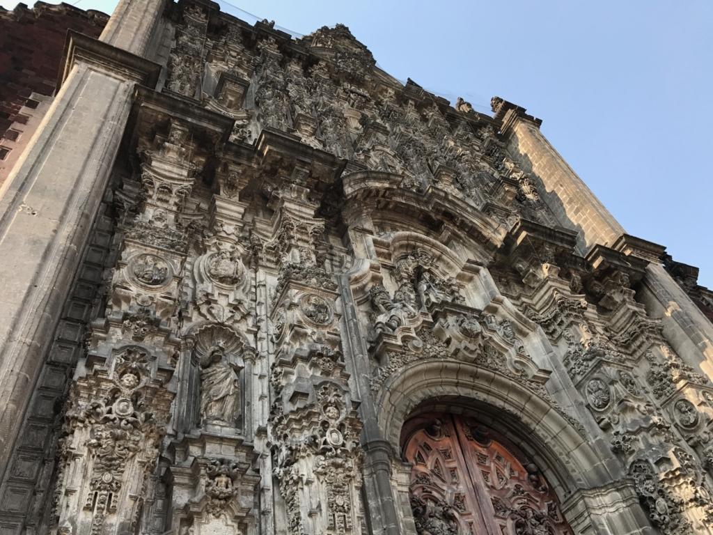 メキシコシティ 歴史地区 メトロポリタン大聖堂