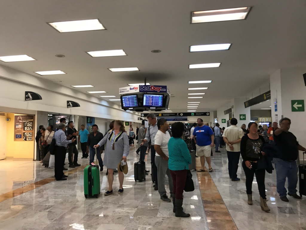 メキシコ国際空港