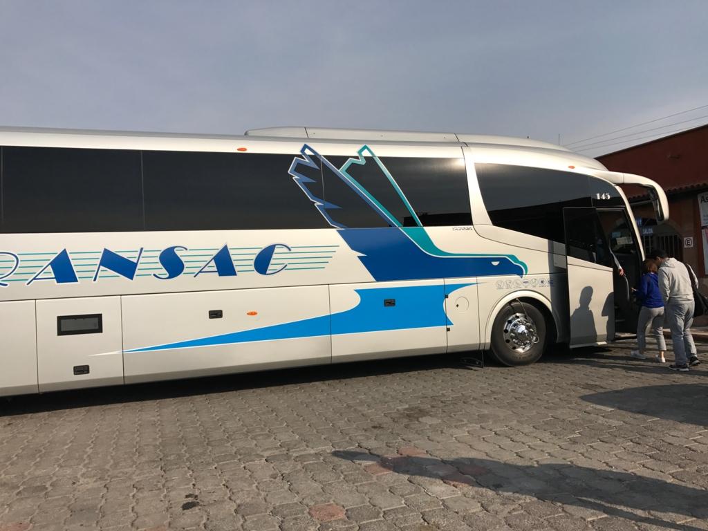 世界遺産を巡る旅 1,2日目 メキシコシティでの観光バス
