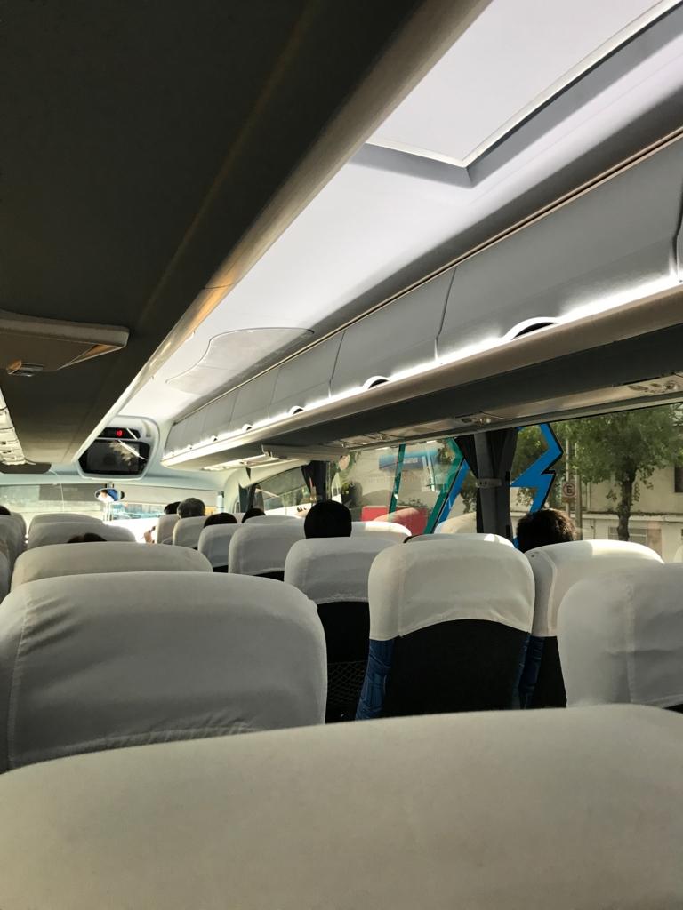 世界遺産を巡る旅 1〜3日目 メキシコシティでの観光バス 車内