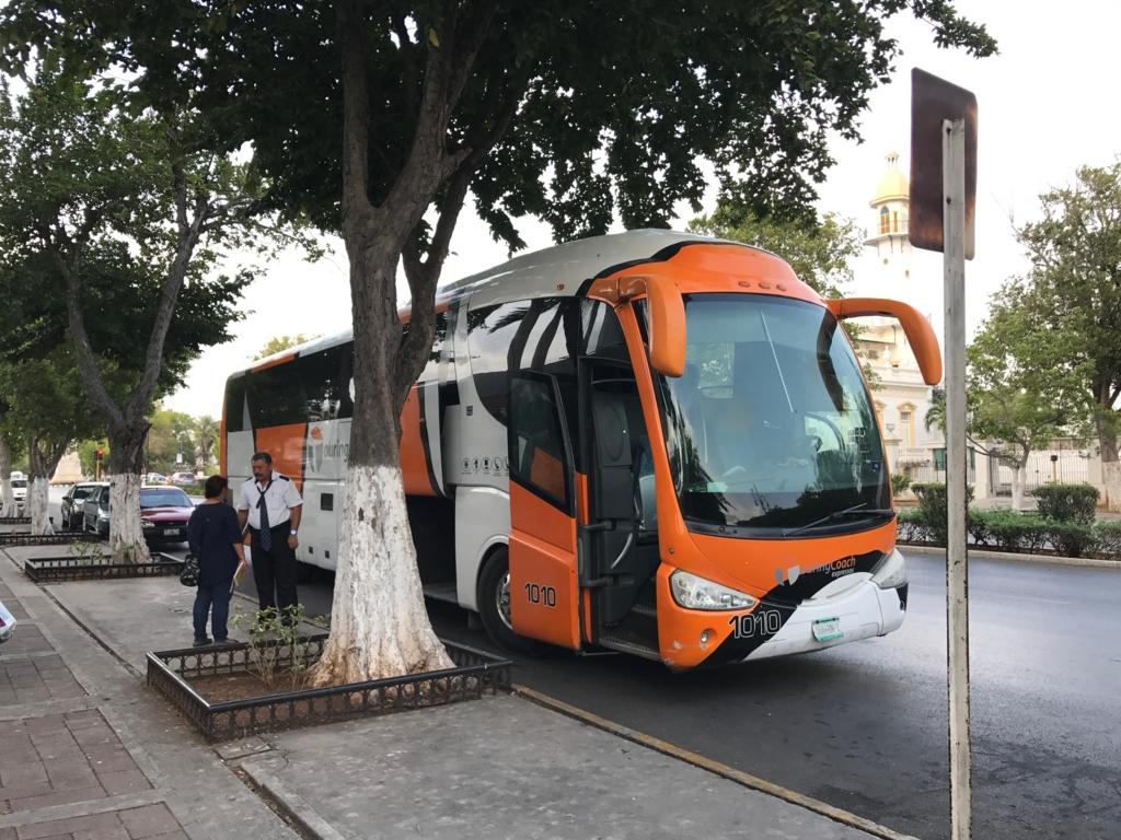 世界遺産を巡る旅 3,4日目 メリダ,カンクンでの観光バス