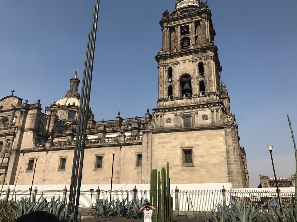 メキシコシティ メトロポリタン大聖堂 西側
