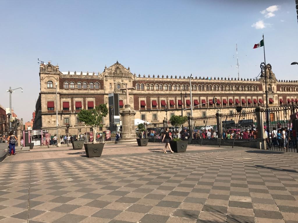 メキシコシティ 国立宮殿