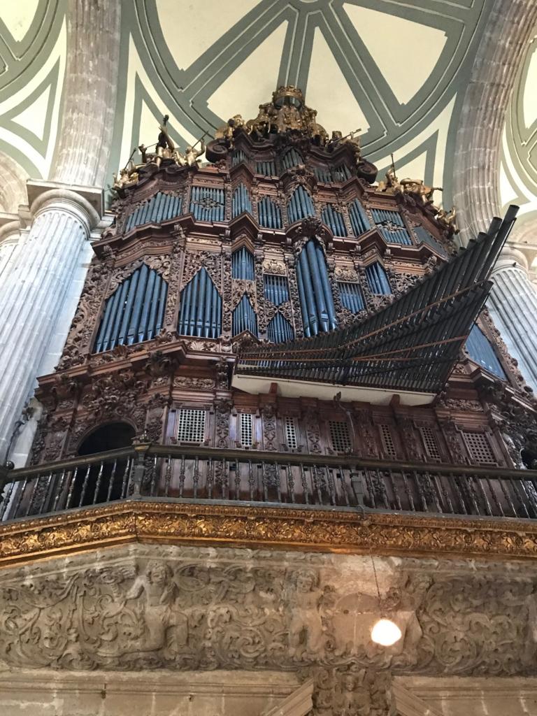 メキシコシティ メトロポリタン大聖堂 パイプオルガン