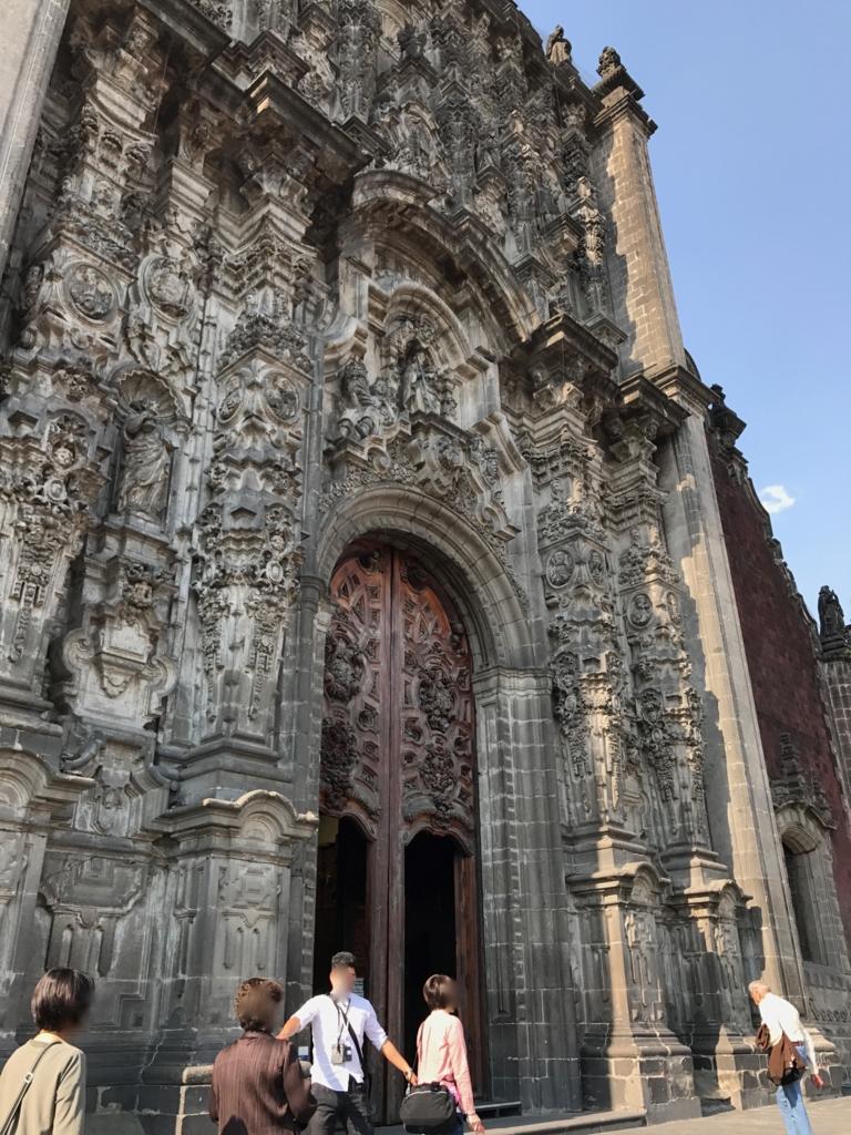 メキシコシティ サグラリオ教会