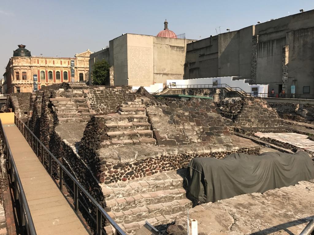 メキシコシティ テンプロ・マヨール遺跡