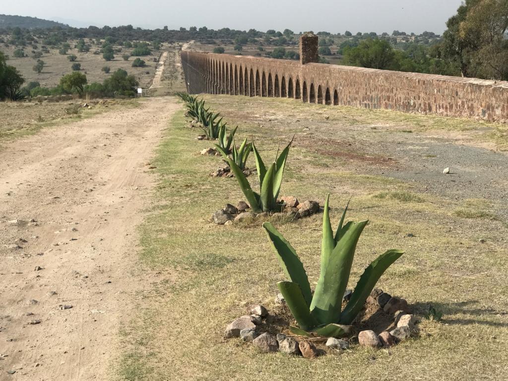 メキシコ 世界遺産 テンプレケ水道橋観光