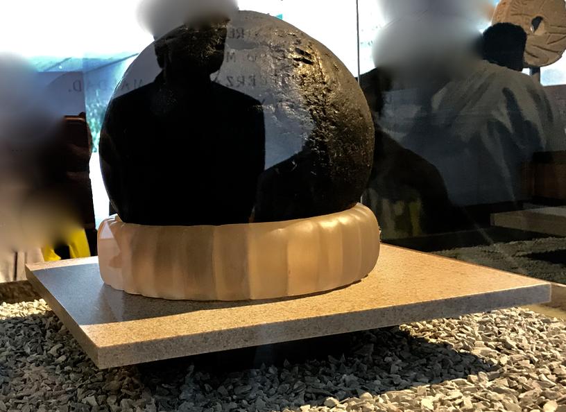メキシコシティ 「国立人類学博物館 トルテカ室」球技 ボール