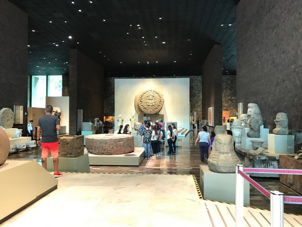 メキシコシティ 「国立人類学博物館 アステカ室」